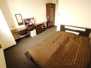 ビジネスホテルフィズ名古屋空港(旧サンクロック名古屋空港):本館シングルのお部屋 必要を最小限のコストで。