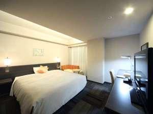 ダイワロイネットホテル盛岡:☆デラックスダブル広々168cm幅のゆったりベットで、カップルにおすすめ☆☆.