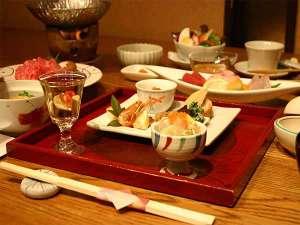 五室五湯の宿 華水(かすい):夕食「四季の膳」イメージ2内容は季節により変わります。