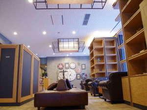 ホテルリリーフ札幌すすきの:ロビーはオシャレで落ち着いた空間を演出♪♪