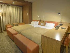 ホテルリリーフ札幌すすきの:デラックスツインルーム《28㎡》バス・トイレがセパレートタイプです