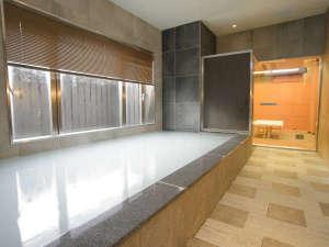 ホテルリリーフ札幌すすきの:1F男女時間入れ替え制大浴場《タオルは客室からお持ち下さい》