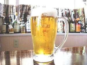 「夏休み特典付プラン」では,ヱビス生ビールの中ジョッキを一人に1杯サービスv(^o⌒)-☆