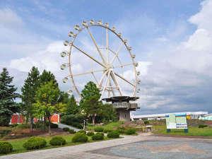 富良野ホテル ベルヒルズ:【観覧車】深山峠アートパークにある観覧車。地上50mから上富良野を一望できます。