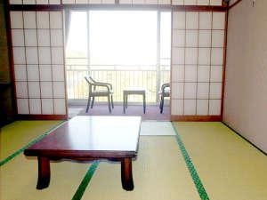 熱川温泉堂:*和室一例。全室バルコニー付。