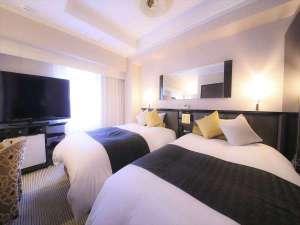 アパホテル<浅草蔵前>:■デラックスツインルーム【17㎡・120cmベッド*2台】※1室限定の特別室