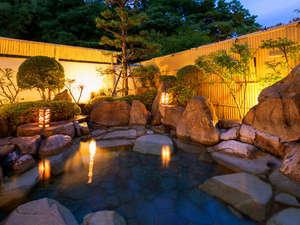 自然と和む 四季の宿 さひめ野:■三瓶温泉-露天風呂-■晴れた日には満天の星空が愉しめます♪