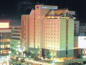 藤田観光ワシントンホテル旭川:ホテル夜景