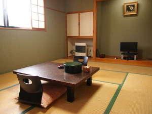 岩と檜の貸切露天 詩季の宿 白樺の庄:和室一例