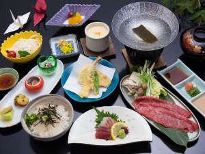サンライズ淡路:季節のミニ海鮮丼や淡路牛のしゃぶしゃぶなど淡路島の恵みがたくさん。