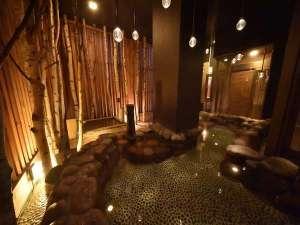 天然温泉 灯の湯 ドーミーインPREMIUM小樽:天然温泉「灯の湯」男性大浴場「外気浴」