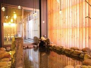 天然温泉 灯の湯 ドーミーインPREMIUM小樽:天然温泉「灯の湯」女性大浴場外気浴