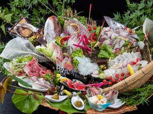 休暇村 紀州加太(きゅうかむら きしゅうかだ):ときめく竜宮伝説♪新鮮魚介をお好きなお料理に仕立てます。