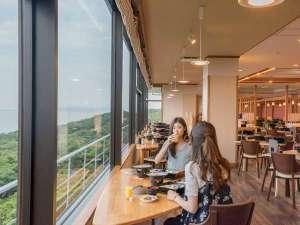 休暇村 紀州加太(きゅうかむら きしゅうかだ):お食事は紀淡海峡が一望できるオーシャンダイング紀伊の国で♪
