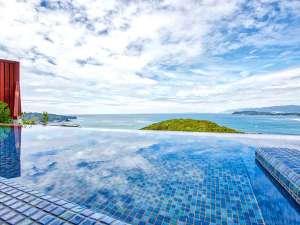 休暇村 紀州加太(きしゅうかだ)~和歌山の旬と絶景露天の宿~:海とつながるインフィニティ―風呂