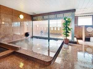 ホテルNo.1松山:最上階の展望大浴場露天風呂・サウナ・水風呂もございます