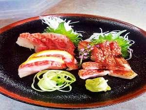 別注料理「金目鯛の刺身」\1650税込