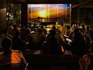 特殊な「カレイドスクリーン」にで絶景映像体験イベントを毎晩開催中♪