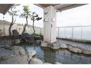 伊東園ホテル熱川:本館7F展望露天風呂(銀の河)