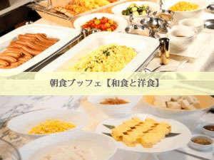 ラグナスイート名古屋:和食と洋食の朝食ブッフェです。