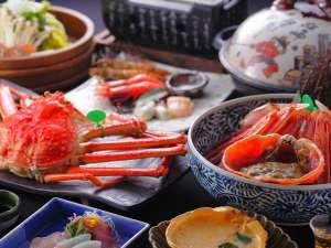 1日8組限定 ~間人蟹と地魚料理~ 大人の絶景隠れ宿 寿海亭:2杯の「幻の間人ガニ」をお好きな食べ方で愉しむ至福の時間
