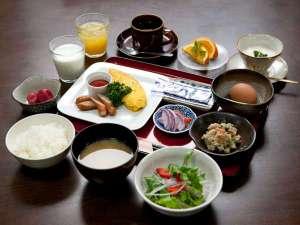 丘のホテル:こだわりの朝食