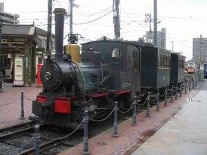 「マッチ箱のような汽車」坊っちゃん列車