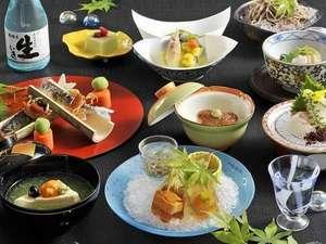 富士山と湖を望むリゾート ホテルマウント富士:季節の会席料理