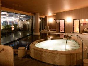 シティプラザ大阪~HOTEL & SPA~:【14階大浴場】大きなお風呂でゆったりと寛ぐ時間を。