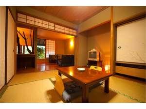 山の家 風楽:6畳和室+4,5畳のリビング(一例)※様々なタイプのお部屋がございます。