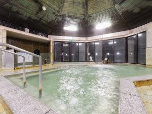 さがら温泉 茶湯里:*【大浴場・男湯】広々とした大浴場でごゆっくりお寛ぎください。