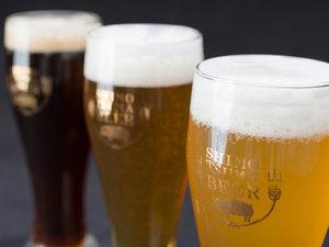 ビアスパークしもつま:*地ビール/ゴールデンピルスナー・ホワイトヴァイツェン・レッドエール