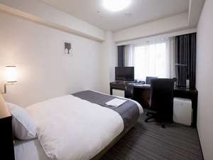 ダイワロイネットホテル川崎:スタンダードシングルは18平米に154センチ幅ベッド♪
