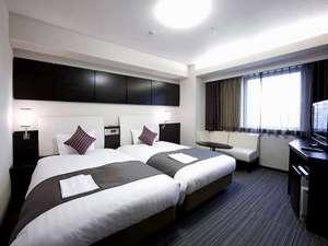 ダイワロイネットホテル川崎:◆ハリウッドツインルーム(26㎡)ホテルで1番広いお部屋です♪
