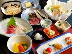 お宿 欣喜湯(旧川湯ホテルプラザ):◆季節の北海道膳~旬の食材を使用した定番会席。