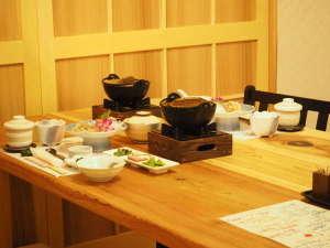 にごり湯の宿 赤城温泉ホテル:【食事処】個室食事処「ときは」