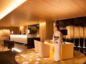 金沢 東急ホテル:皆様をお迎えするフロントでございます。コンシェルジュも待機しておりますのでお気軽にご相談下さい。