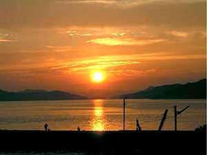 海の夕日とうまい魚 ひのしま荘
