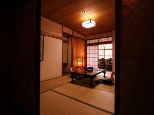 にごりの湯の会 那須湯本温泉 旅館 山快:客室は、全室落ち着いた純和風の佇まいでトイレ・洗面付き