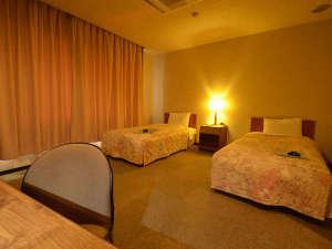 長浜バイオ大学ドーム宿泊研修館:*【ツインルーム】ゆったりとお過ごし頂ける23㎡。ユニットバス・トイレ完備。