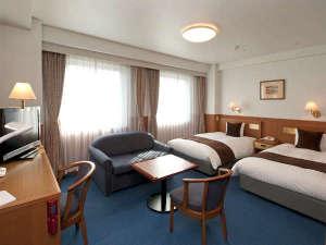 伊勢パールピアホテル:【禁煙】デラックスツイン。33㎡。ホテル一番人気の部屋タイプです。