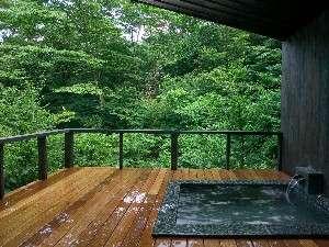 露天風呂付き客室のある源泉の旅館 千條旅館