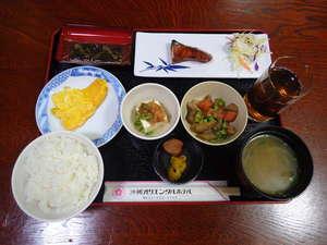 沖縄オリエンタルホテル:朝食(和食)