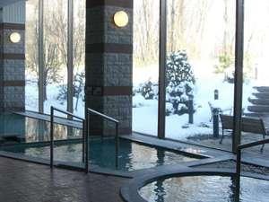 森のゆ・花神楽:冬の温泉
