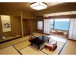 伊豆今井浜温泉 今井荘:【一般和室】海を眺めてゆったりお寛ぎいただける部屋食プランも