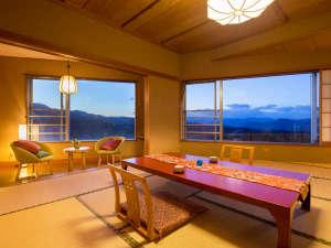 ホテル 松本楼:◆眺望客室◆『山紫水明の景色』をご覧いただけます。<お部屋に泊まる>ことが最高の記念に♪