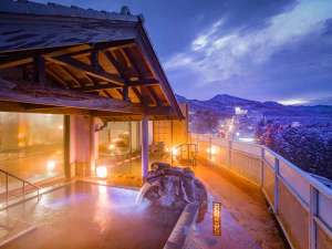 ホテル 松本楼:■上州の山並みを見渡す≪絶景露天風呂≫■開放感あふれる景色を温泉に癒されるひと時を