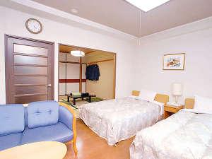 ホテルサンバレー伊豆長岡 別館 悠々館:ファミリーに人気の和洋室