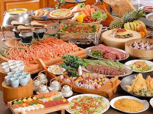 ホテルサンバレー伊豆長岡 別館 悠々館:バイキング料理♪(※写真はイメージです。)