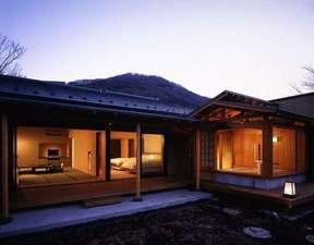 仙郷楼:専用露天風呂付き別邸「奥の樹々」